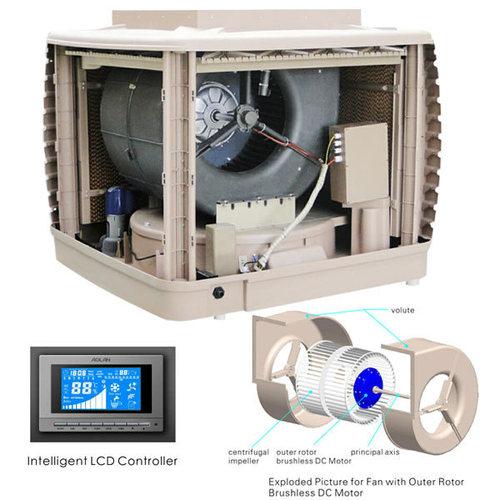 Hot Evaporative Air Cooler In Fuzhou Fujian Aolan