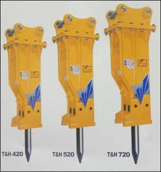 Hydraulic Breakers (T And H 520)