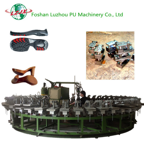 Lz-Xc Series Pu Shoe Soles Pouring Forming Machines