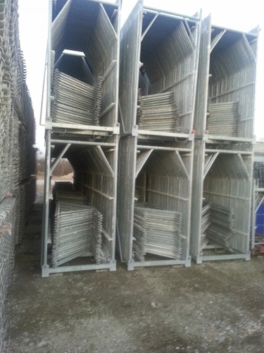 Scaffolds And Steel Boards