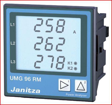 UMG 96RM-E - 6 Channel Power Analyzer