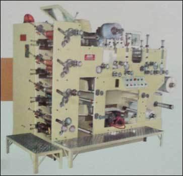 Four Colour Rotary Label Printing Press (Jandu CD-1043)