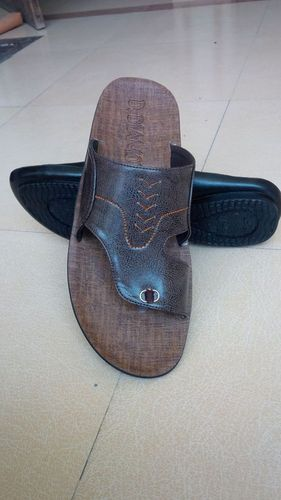 Fancy Gents Pu Footwear in  New Madhopuri