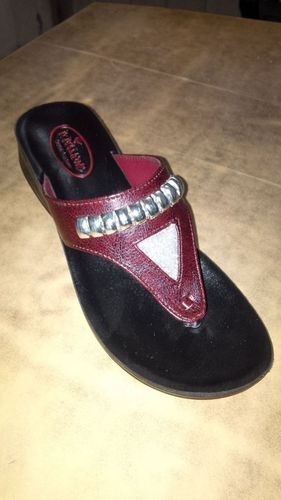 Fancy Ladies Pu Footwear in  New Madhopuri