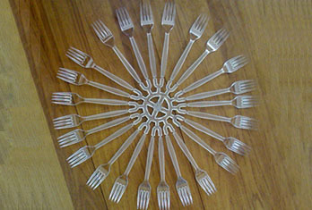 Disposable Forks and Spoons