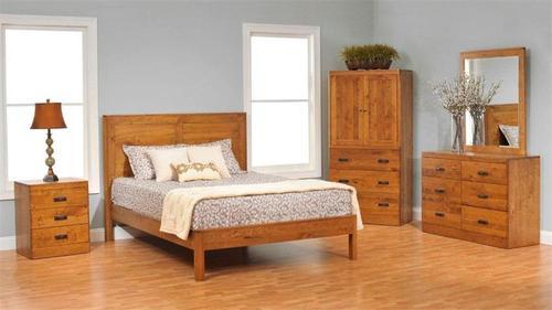 Wooden Bedroom Bed Set