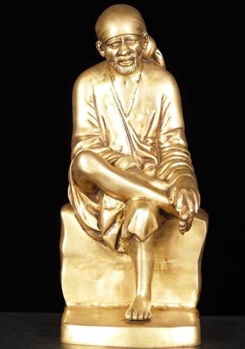 Brass Sai Baba Statue in   Near-Vinoba Bhave University