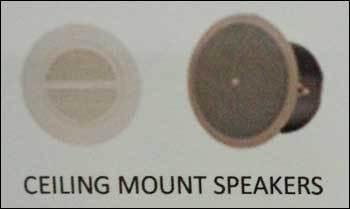 Ceiling Mount Speakers