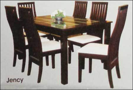 Jency dining table in kphb colony hyderabad manufacturer for Dining room designs in sri lanka
