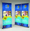 Rollup Standee Branding Services in  10-Sector