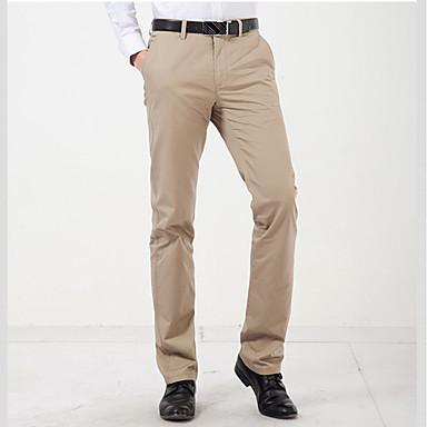 Slim Straight Casual Pants