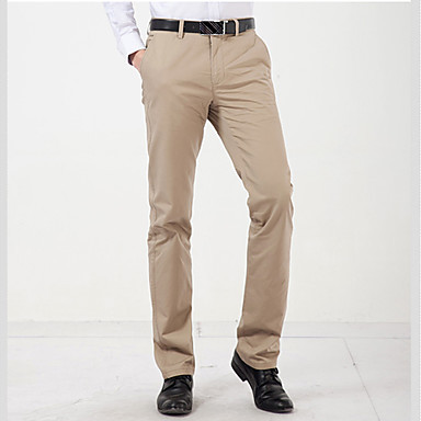 Slim Straight Casual Pants in  Kalupur