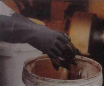Unsupported Neoprene Flocklined Gloves
