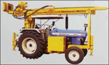 Tractor Mounted DTH Cum Core Drilling Rig