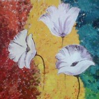 Flower Canvas Painting