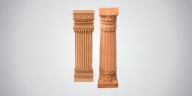 Stone Pillars in  Road No. 9 (Vki)
