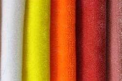 Dyed Velvet Fabrics