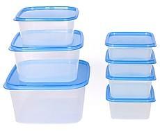 Plastic Kitchen Storage Container Box