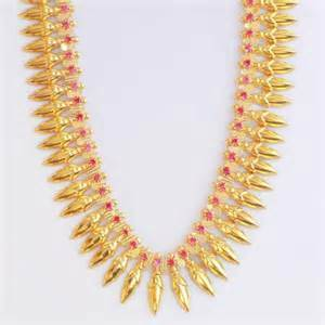 Designer Gram Gold Necklace in  Sangam Nagar