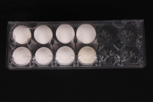 12 Cell Plastic Egg Packing Carton
