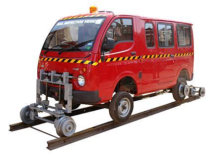 Rail Track Inspection Vehicle
