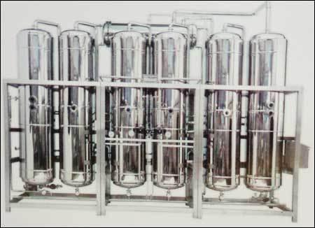 Multi Column Distillation Plant (Rising Film Principle)