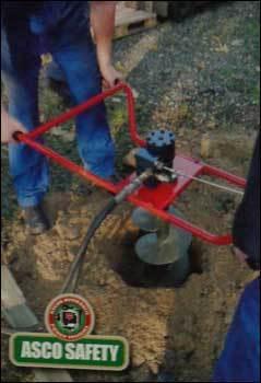 Hycon HED Hydraulic Earth Drill Machine