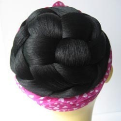 Black Hair Buns And Dome