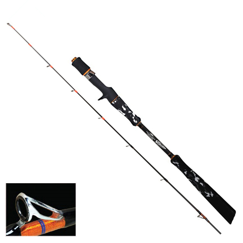 Finatura Akilas Rubber Jigging Lure Fishing Rod