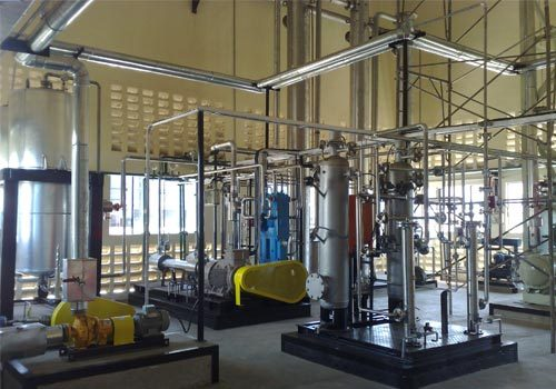 Natural Source Based CO2 Recovery Plant in  Shalimar Garden