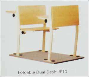 Foldable Dual Desk  in  Ecotech