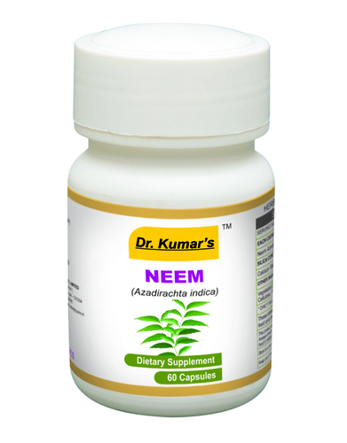 Capsules Neem Bottle