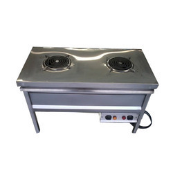 Commercial Two Coil Electrical Stove