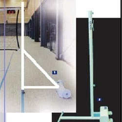 Portable Shuttle Badminton Pole