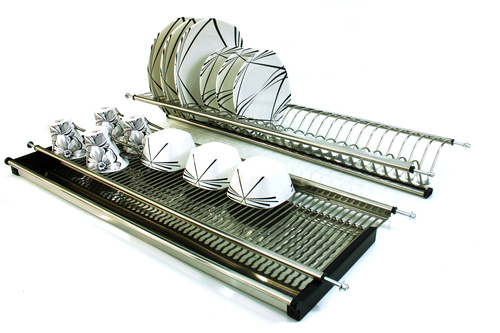 Dish Rack with Drip Tray in  Jagat Puri