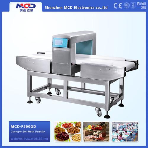 Digital Metal Detector With Conveyor Belt