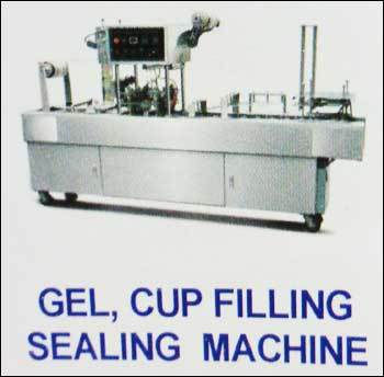 Gel Cup Filling Sealing Machine in  Ayanavaram