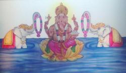 Lord Ganesha Painting