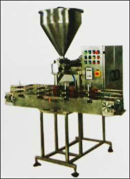 Automatic Paste Pickle And Cream Filling Machine