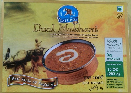 Frozen Dal Makhani