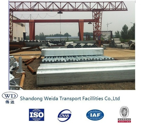 Hot Dipped Galvanized Highway Guardrail