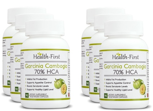 70 % HCA Appetite Suppressant and Weight Loss Supplement Capsules