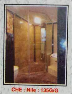 Frameless Shower Enclosure (135G G) in  Virugambakkam