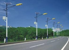 Street lighting in   Sadatnagar