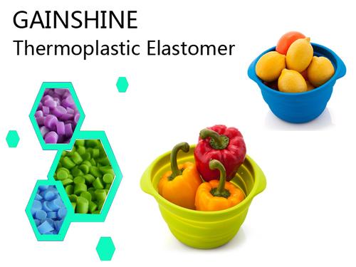 Food-Grade Thermoplastic Elastomer For Plastic Folding Bowl