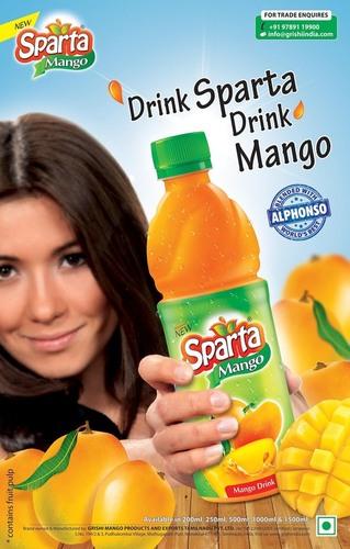 Sparta Mango Fruit Drink