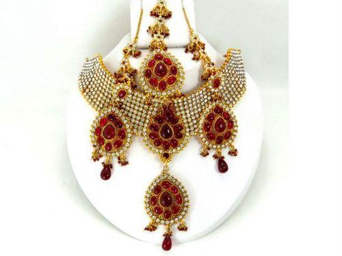 Choker Copper Necklace Sets
