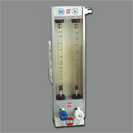 Hypoxic Guard Rotameter For Anesthesia Machine in  Rakhial