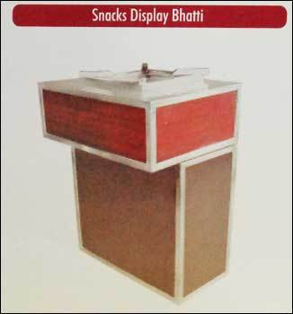 Snacks Display Bhatti (Steel and Wooden)