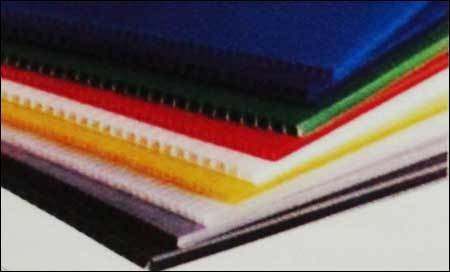 PP hollow Corrugated Sheets